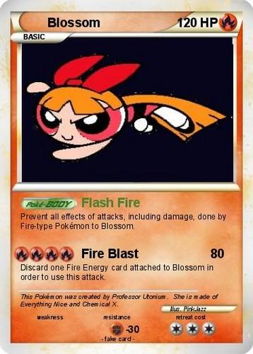 Blossom Покемон TCG Card 1
