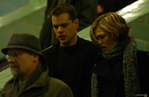 Jason Bourne Hintergrund entitled Bourne Saga