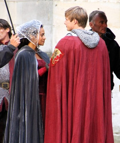 Bradley and Angel BTS - arthur-and-gwen Photo