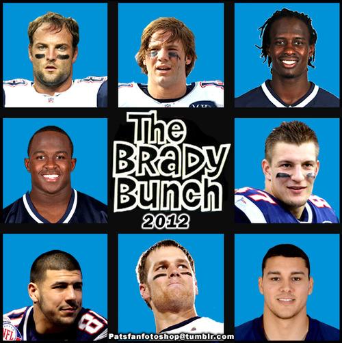 Brady Bunch Patriots Patriots The Brady Bunch
