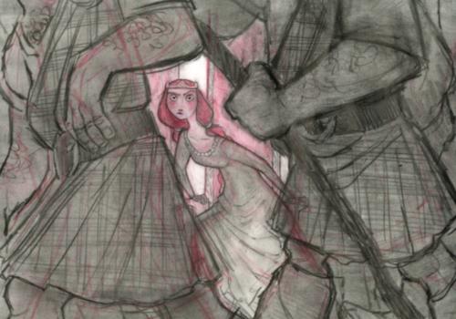 Ribelle - The Brave concept arts