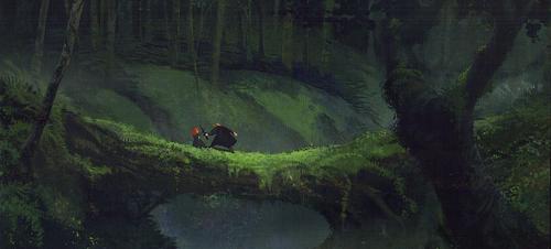 メリダとおそろしの森 concept arts