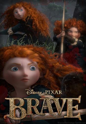 Ribelle - The Brave fan arts