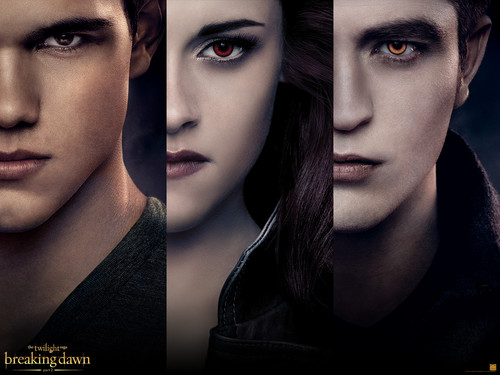 Breaking Dawn The Movie Обои with a portrait called Breaking Dawn Обои
