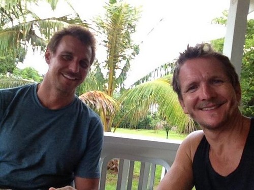 Bromance with Ingo Rademacher