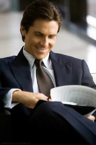 Bruce Wayne wallpaper containing a business suit, a suit, and a pinstripe entitled Bruce ♥
