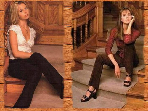 Buffy and Cordelia