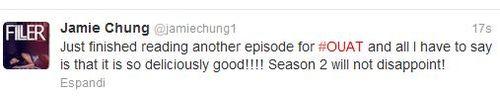Cast Tweet Season 2: Mulan