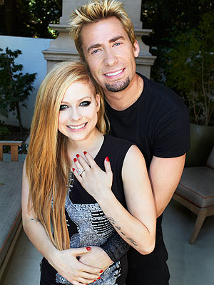 Chad and Avril <3