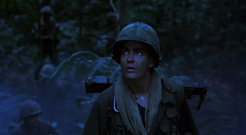 Charlie Sheen in Platoon (LOOKIN SEXAY!)