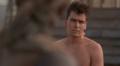 Charlie Sheen in Platoon (LOOKIN SEXAY!)