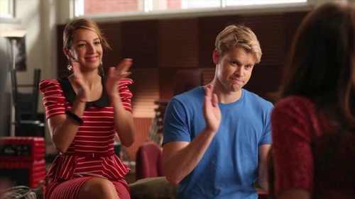 "Chord Overstreet wallpaper entitled Chord in stills from Glee S4.1 ""The New Rachel"" episode"