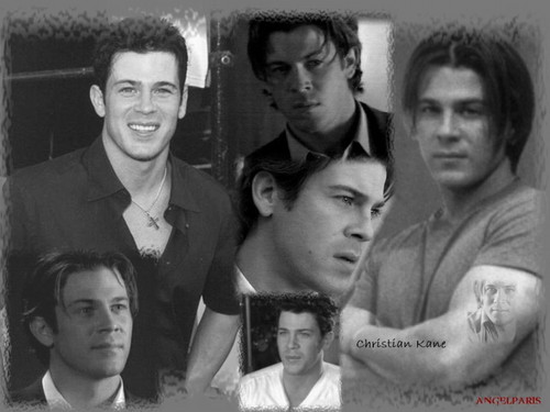 Christian Kane wallpaper possibly containing a business suit titled Christian Kane