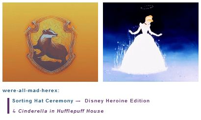 Cinderella is in Hufflepuff House - disney-princess Photo