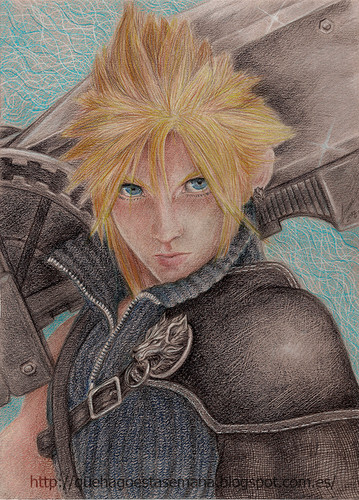 Cloud Fanart