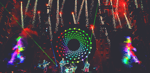 Coldplay at Paralympics ceremony