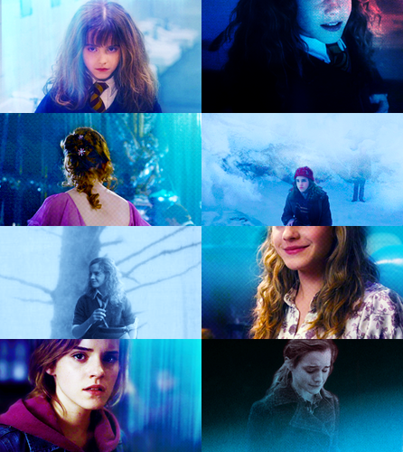 Color Meme: Hermione Granger + Blue