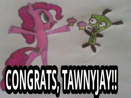 Congrats TawnyJay!