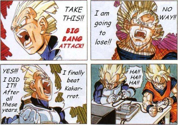 Dragon Ball Z Funny Memes