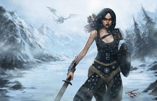 Elder Scrolls V : Skyrim wallpaper titled DUMP
