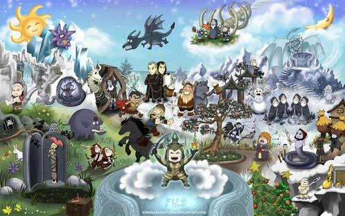 Elder Scrolls V : Skyrim wallpaper entitled DUMP