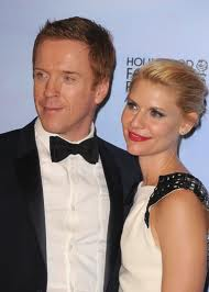 Damian Lewis & Claire Danes at Golden Globes 2012