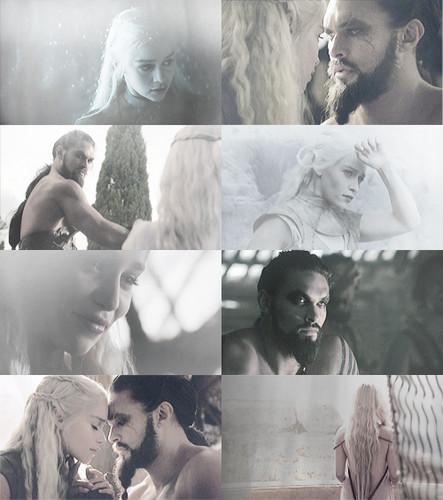 Dany and Drogo.