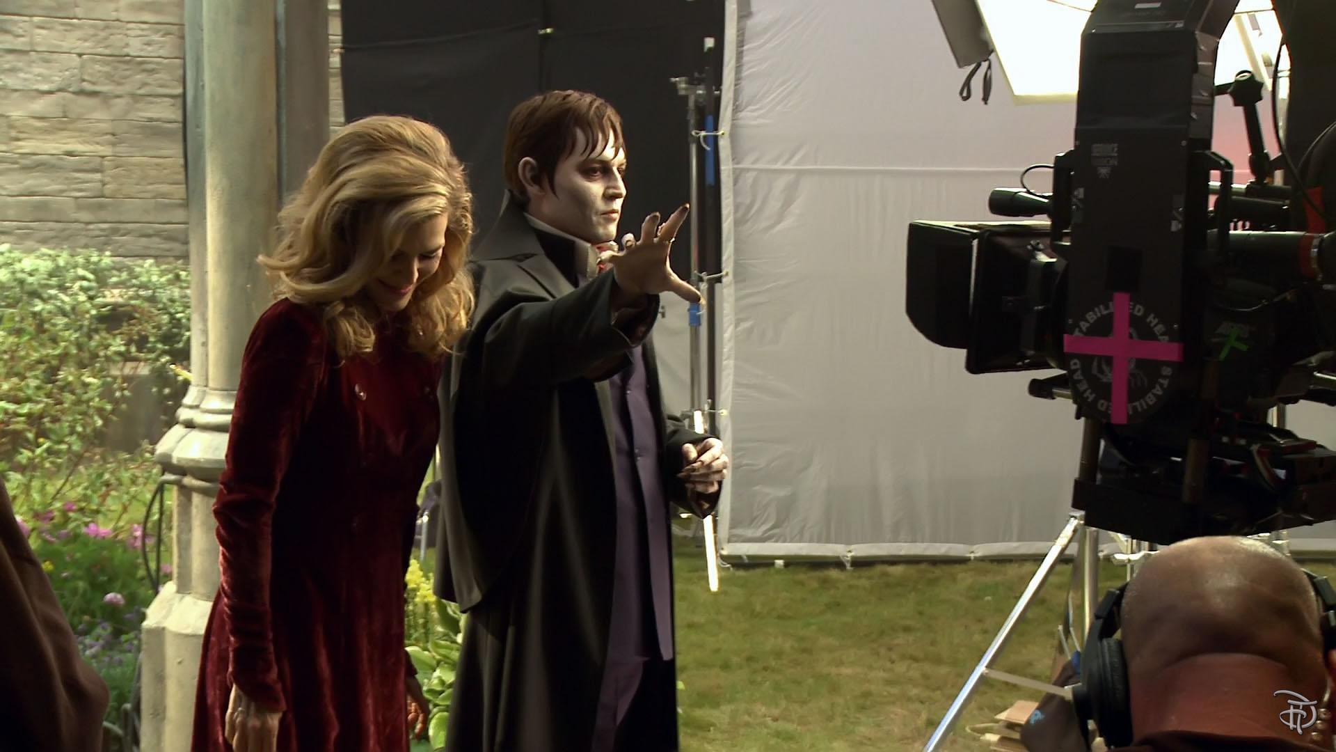 Dark Shadows behind the scenes