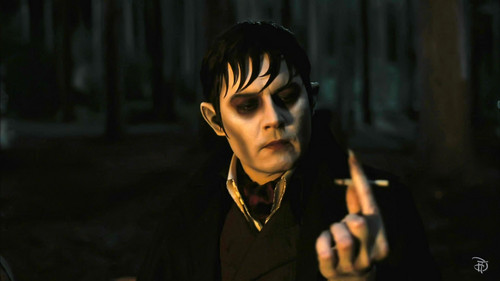 Tim Burton's Dark Shadows Обои called Dark Shadows behind the scenes