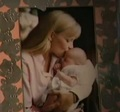 Debbie Rowe and baby Paris (RARE)