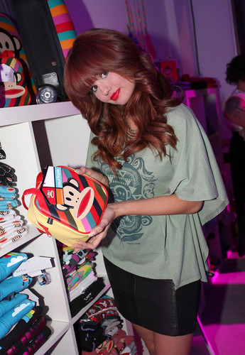 Debby Ryan wallpaper probably containing Anime titled Debby Ryan at the 'Paul Frank Fashion's Night Out '