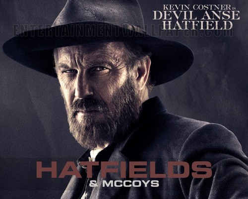 Hatfields & McCoys wallpaper with a fedora called Devil Anse Hatfield