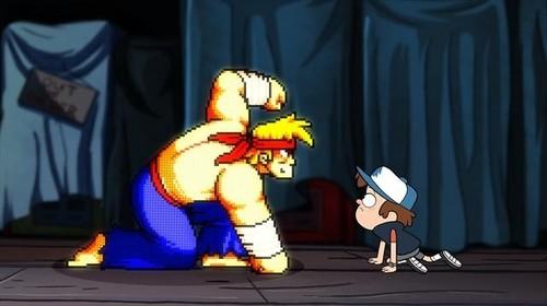 Dipper meets Rumble