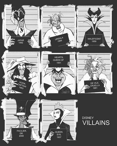 Disney Villains ♥