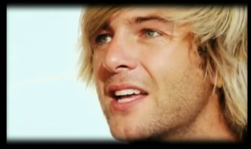 Keith Harkin wallpaper with a television receiver and a portrait titled Don't Forget About Me screencaps