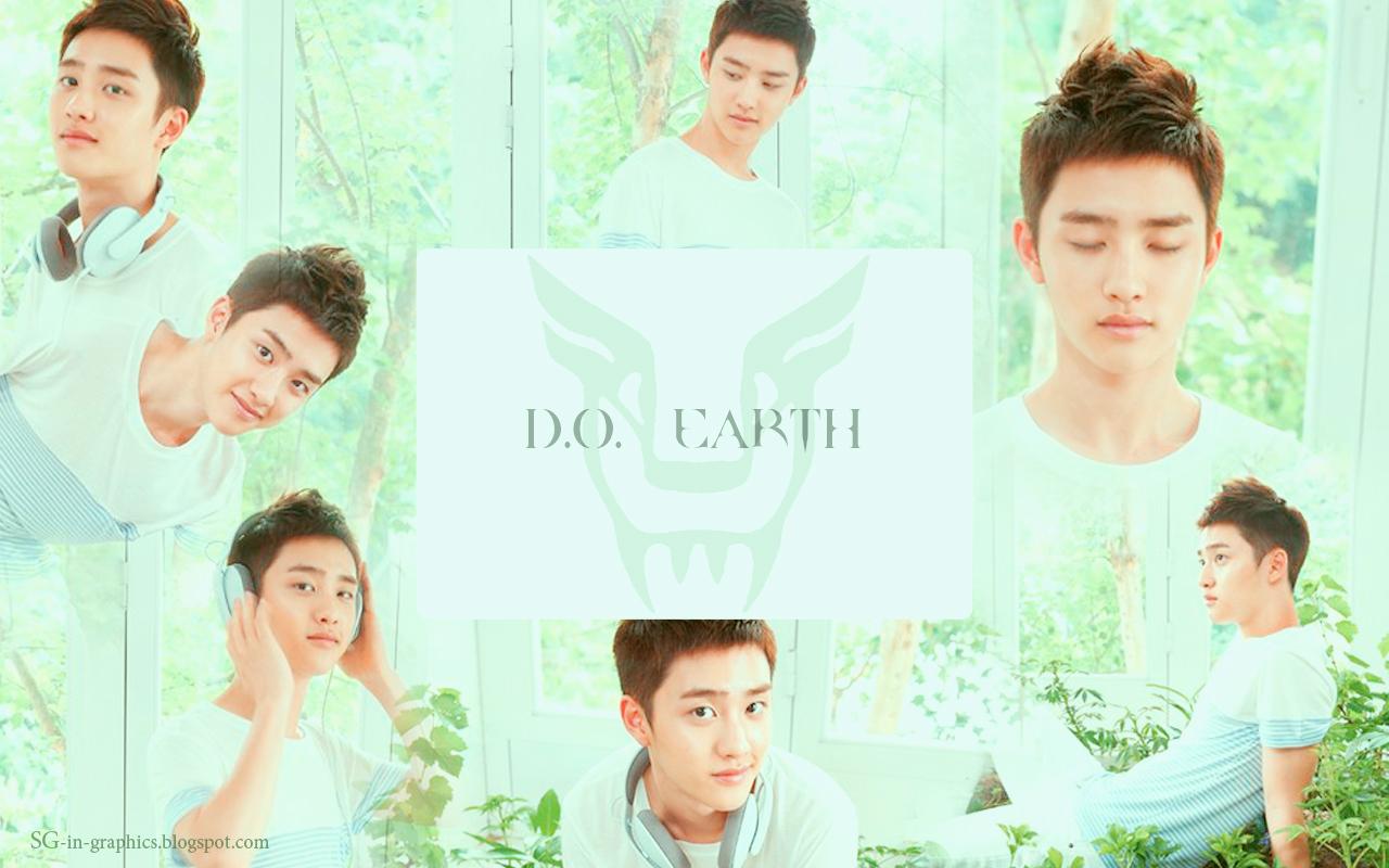 """EXO-K """"The Face Shop"""" fondo de pantalla"""