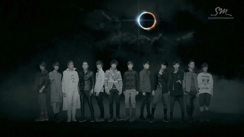 EXO kertas dinding called EXO