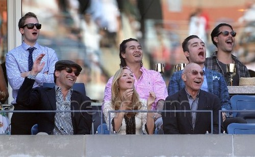 Ed Westwick at US Open 2012 Hangout (10 sept 2012) - ed-westwick Photo