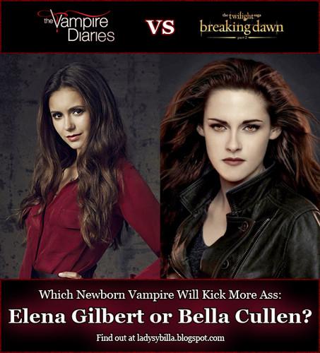 Elena Gilbert vs. Bella Cullen