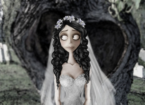 Corpse Bride wallpaper titled Emily Alive