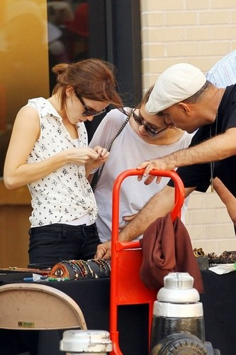 Emma Shopping With A Friend In Meatpacking District