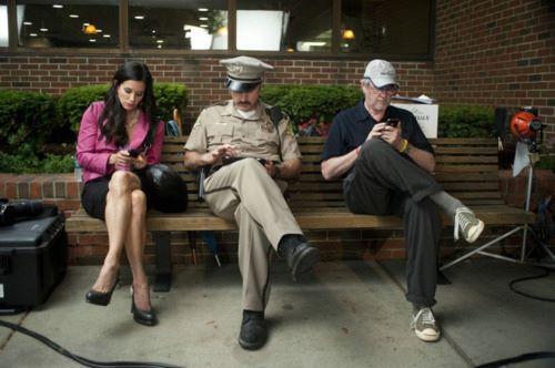 Everyones texting off screen