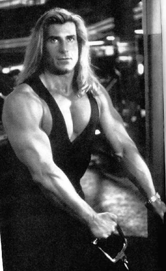 Men with long hair Fabio