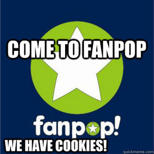 Fanpop has cookies