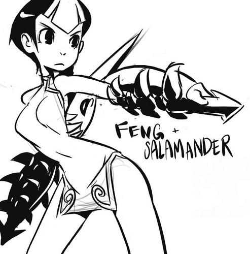 Feng and salamandra