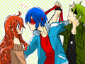 Flippy x Flaky x Splendid - happy-tree-friends photo
