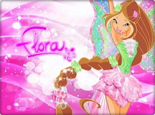 Flora Harmonix ~ wallpaper