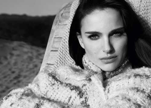 Natalie Portman wallpaper containing a fur coat called Frederic Auerbach for Christian Dior Parfums (2012)  >> HQ !!