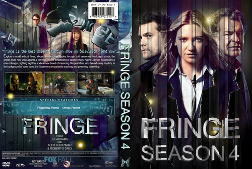 Fringe Season 4 DVD cover