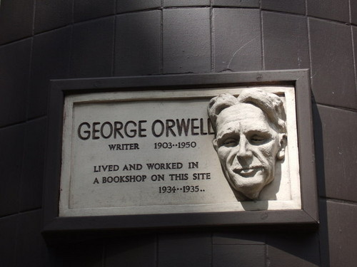 GEORGE ORWELL IN HAMPSTEAD